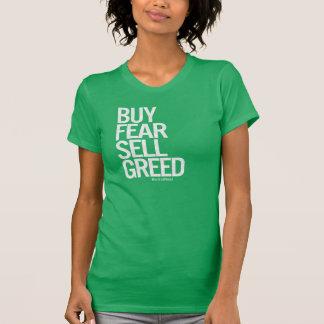 """Camiseta """"Compre o medo, o T das mulheres da avidez da"""