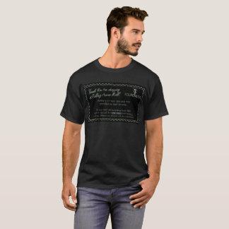 Camiseta Comprovante dos acres do rolamento