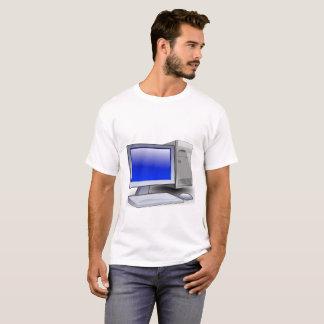 Camiseta Computador de secretária