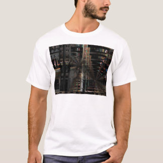 Camiseta Computador eletrônico de conselho de circuito de
