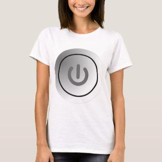 Camiseta comute a marca redonda do design do círculo do