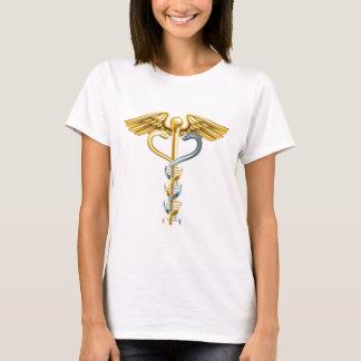 Camiseta Conceito do Caduceus da hélice dobro do ADN