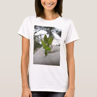 Camiseta Conceito novo da ideia da vida