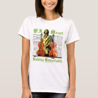 Camiseta Concertante de Mozart Sinfonia