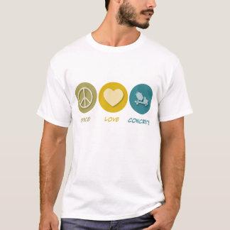Camiseta Concreto do amor da paz