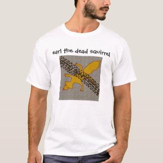 Camiseta conde, conde o esquilo inoperante