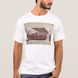 Camiseta Conde Harold com seu cheio das velas do vento