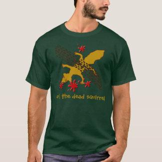 Camiseta conde o esquilo inoperante