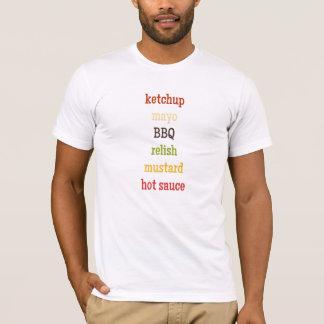 Camiseta Condimentos