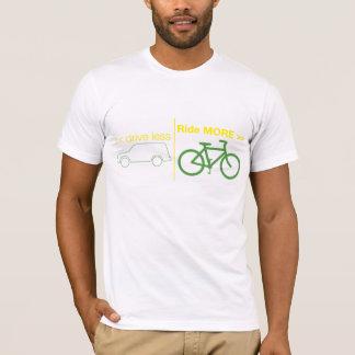 Camiseta conduza menos passeio MAIS