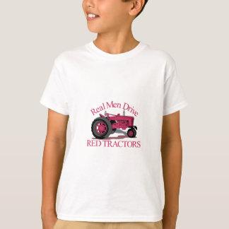 Camiseta Conduza tratores vermelhos