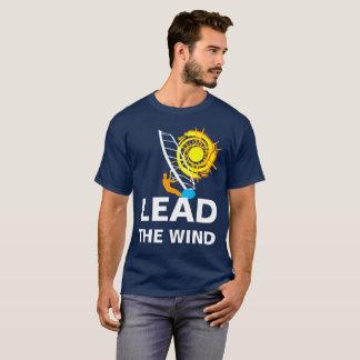 Camiseta Conduza windsurfing customizável engraçado do