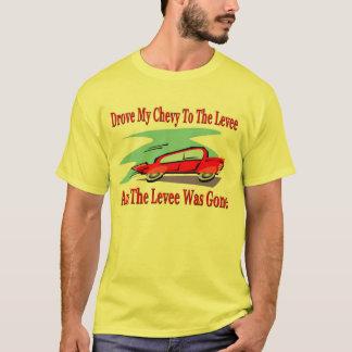 Camiseta Conduziu meu Chevy ao dique, o dique foi ido