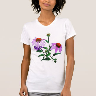 Camiseta Coneflower roxo