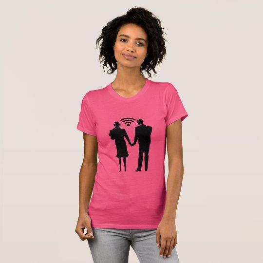 Camiseta conexão romance