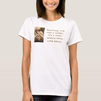 Camiseta confecção de malhas cargo-apocalíptico