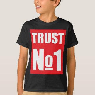 Camiseta Confiança ninguém