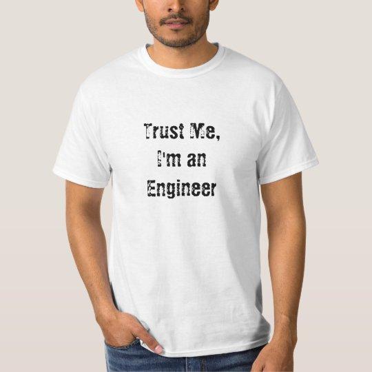 Camiseta Confie em mim, sou humano