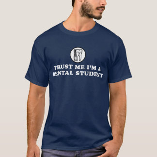 Camiseta Confie-me estudante dental