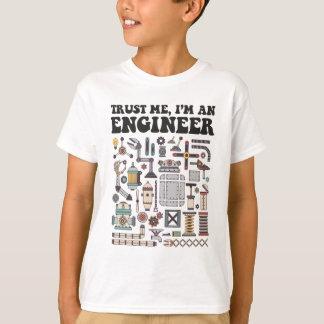 Camiseta Confie-me, mim são um engenheiro