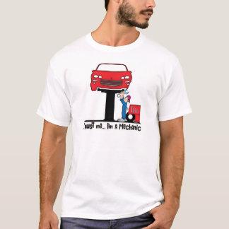 Camiseta Confie que eu mim é mecânico engraçado do mecânico