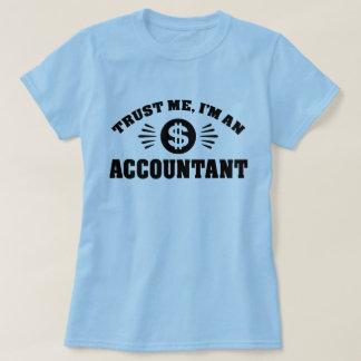 Camiseta Confie que eu mim é um contador