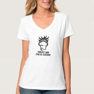Camiseta Confie que eu mim é um cozinheiro!