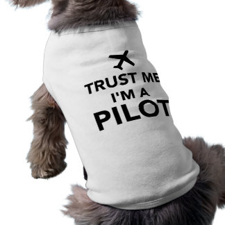 Camiseta Confie que eu mim é um piloto