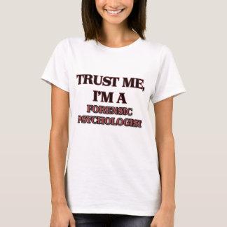 Camiseta Confie que eu mim é UM PSICÓLOGO JUDICIAL