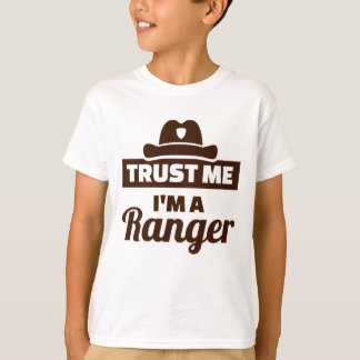 Camiseta Confie que eu mim é uma guarda florestal