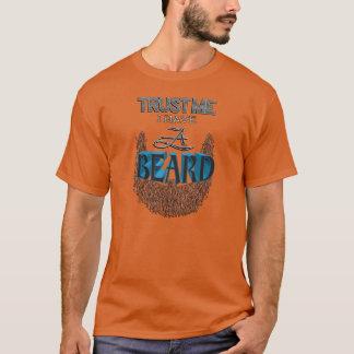 Camiseta Confie que eu mim tem uma barba (barba do