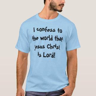 Camiseta Confissão