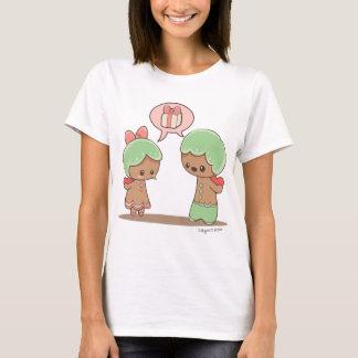 Camiseta Confissões do pão-de-espécie de BeKyoot