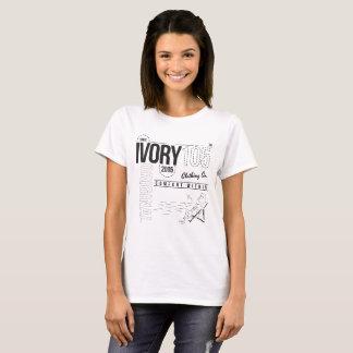 Camiseta Conforto Ivory105 dentro do t-shirt exterior do
