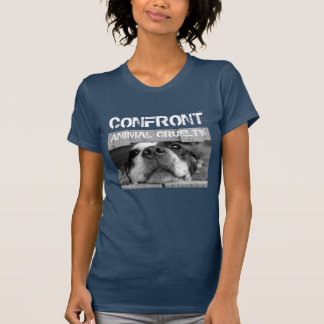Camiseta Confronte a crueldade animal