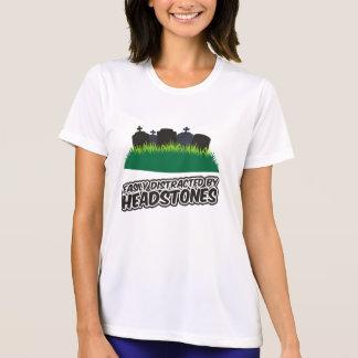 Camiseta Confundido facilmente por Headstones