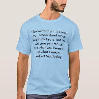 Camiseta Confusão? Bom