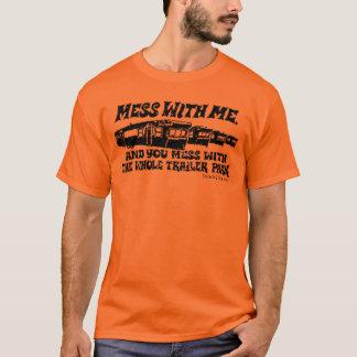 Camiseta Confusão comigo, confusão com o parque de