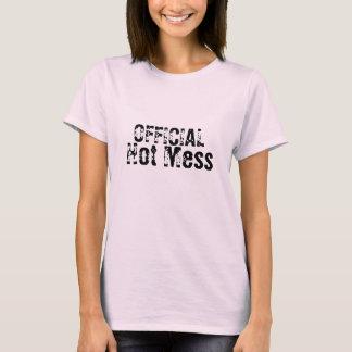 Camiseta Confusão quente oficial
