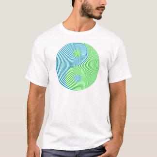Camiseta Confusão visual Yin legal Yang de Wellcoda