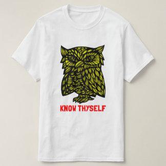 """Camiseta """"Conheça t-shirt do valor de Thyself"""""""
