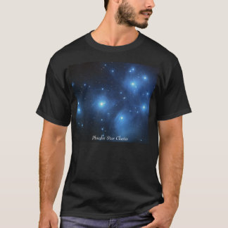 Camiseta Conjunto de estrela de Pleiades