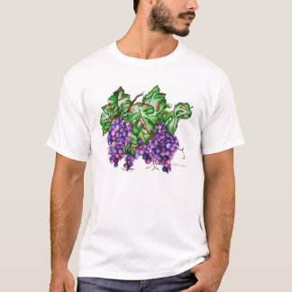 Camiseta conjunto de uvas