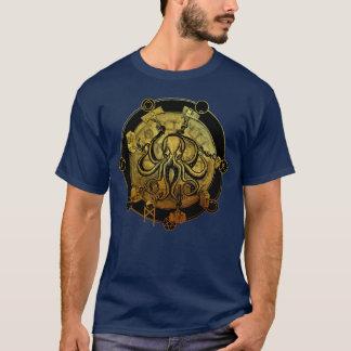 """Camiseta """"Conquiste-se"""" OURO do T do polvo"""