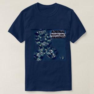 Camiseta Consciência ad-renal da insuficiência