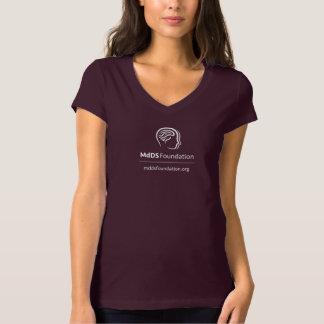 Camiseta Consciência Bella de MdDS+T-shirt do V-Pescoço do