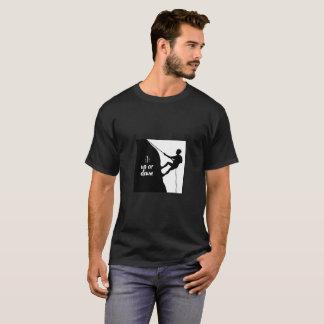 Camiseta consciência bipolar para cima ou para baixo