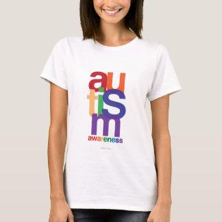 Camiseta Consciência do arco-íris do autismo
