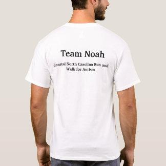 Camiseta Consciência do autismo de Noah da equipe