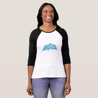 Camiseta Consciência do câncer de ovário do apoio de